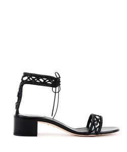 Rene Caovilla | Studded Trim Sandals