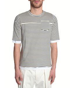 Wooster + Lardini   Striped T-Shirt
