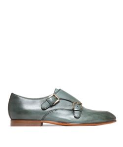 Santoni | Buckle Fastening Monk Shoes