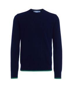 Comme Des Garçons | Maglione Shirt In Lana E Verde Fluo