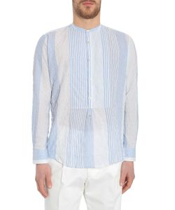The Gigi | Mandarin Collar Shirt