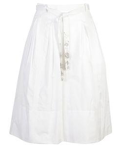 Ermanno Scervino | Embellished Tie Waist Skirt
