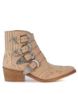 Toga | Pulla Texan In Pale Leather