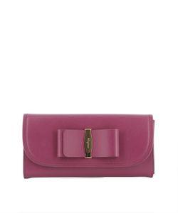 Salvatore Ferragamo | Violet Leather Wallet