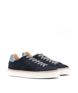 Hogan Rebel | Lace-Up Sneakers R260 In Nubuck