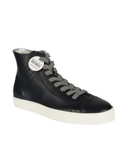 Hogan Rebel | Leather Hi-Top Sneakers