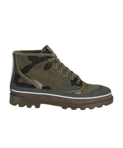 Valentino | Camouflage Ankle Boots