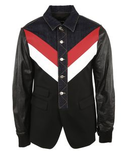 Dsquared2 | Denim And Leather Jacket