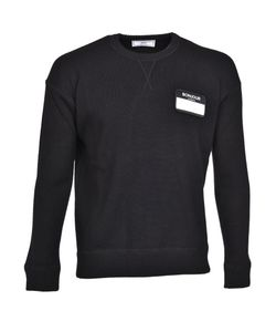 AMI Alexandre Mattiussi   Ami Name Tag Patch Sweater