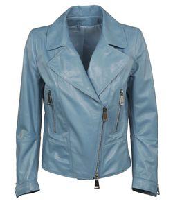 Sylvie Schimmel | Zip Up Leather Jacket