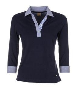 Fay   Three-Quarter Sleeved Polo Shirt