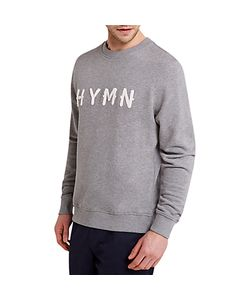 HYMN | Whittle Logo Print Sweatshirt