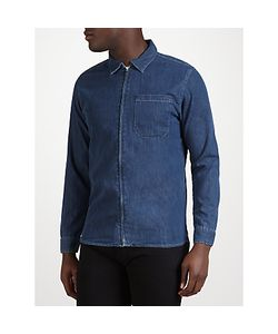 Edwin | Demo Zipped 12oz Selvedge Denim Shirt Light