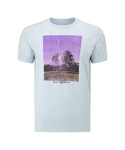 Edwin | Bad Vacation Graphic T-Shirt Ciel Clair