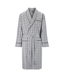 Otis Batterbee | Prince Of Wales Check Cotton Robe