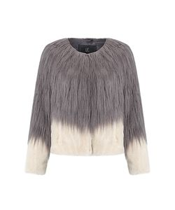 Unreal Fur | Fire And Ice Jacket Charcoal/Champagne