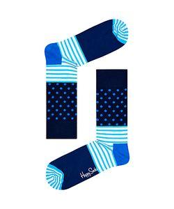HAPPY SOCKS | Stripe Dot Socks One Size