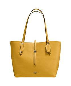 Coach | Market Leather Tote Bag