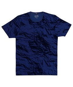 Denham | Paper Effect Camouflage Print T-Shirt