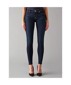 7 For All Mankind | The Skinny Bair Jeans Rinsed Indigo