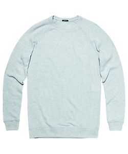 Denham | Jv Raglan Sleeve Crew Neck Stretch Cotton Jumper Cfj