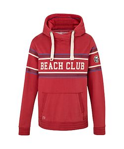 Fat Face | Beach Club Hoodie Rosewood