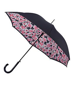 Fulton | Bloomsbury Roses Print Walking Umbrella