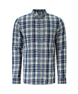 Denham | Edged Check Shirt Tpl