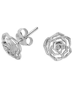 Dower & Hall | Wild Rose Stud Earrings