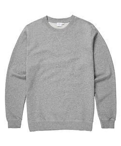 Sunspel | Loopback Cotton Sweatshirt Melange