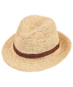 Christys' | Christys Straw Bude Trilby Hat Natural