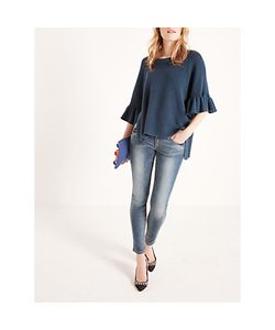 AND/OR | Poncho Bell Sleeve Jumper Deep