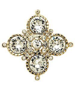 Monet | Crystal Medal Brooch