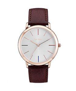 Paul Smith   Ma Leather Strap Watch