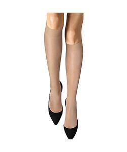 Wolford   20 Denier Satin Touch Knee High Socks