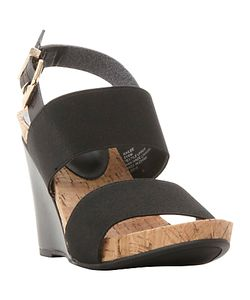 Dune | Kailee Elasticated Strap Wedge Sandals