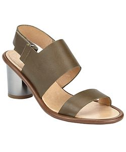 Kin by John Lewis | Madlen Double Strap Block Heeled Sandals