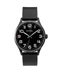 Paul Smith   Tempo Leather Strap Watch