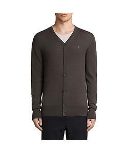 AllSaints | Mode Merino Button Up Cardigan Military