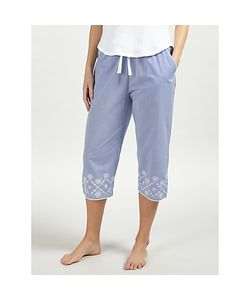 John Lewis | June Embroidered Cropped Pyjama Bottoms