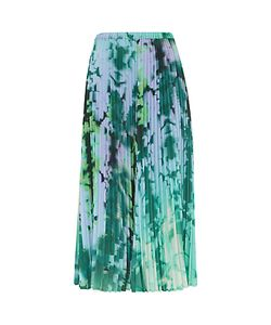 Finery | Carlyle Printed Pleated Skirt Multi