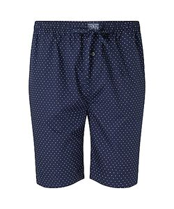 Polo Ralph Lauren | Woven Cotton Polka Dot Lounge Shorts Navy