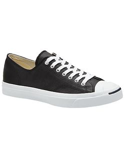 Converse | Jack Purcell Lace-Up Leather Trainers