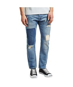 Edwin | Ed-55 Regular Tapered Jeans Rainbow Selvage Denim Pulled Wash