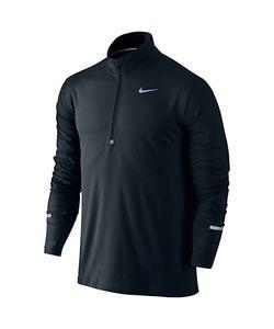 Nike   Dri-Fit Element Half-Zip Long Sleeve Running Top