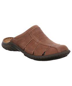 Josef Seibel | Logan 22 Leather Sandals Nut