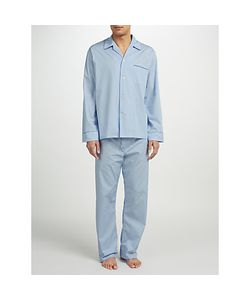 DEREK ROSE | Stripe Woven Cotton Pyjamas Light