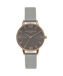 Olivia Burton | Midi Dial Leather Strap Watch