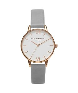 Olivia Burton | Womens Midi Dial Leather Strap Watch