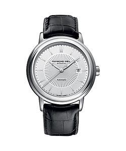 Raymond Weil   2847-Stc30001 Maestro Automatic Leather Strap Watch